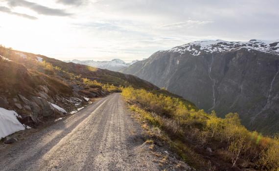 дорога Aursjovegen в Норвегии