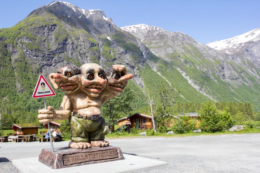Тролль в Норвегии