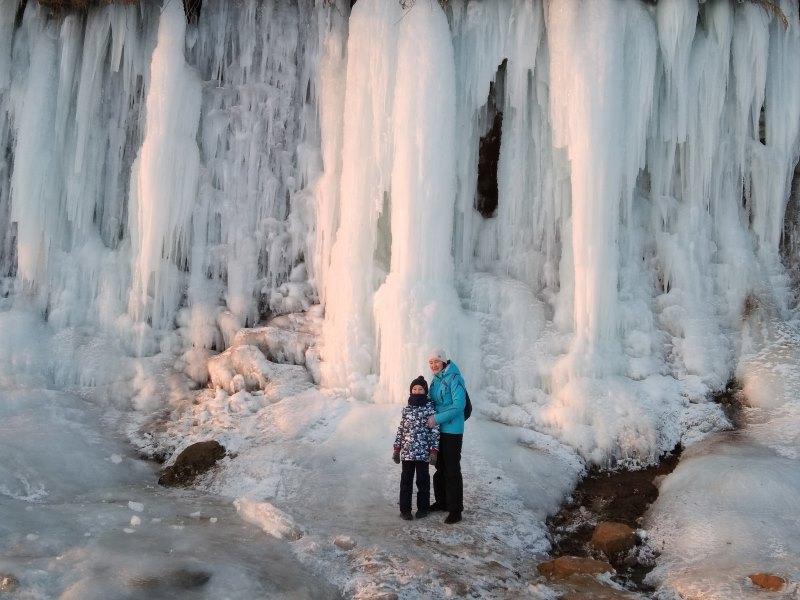 Ледопад в Закамске